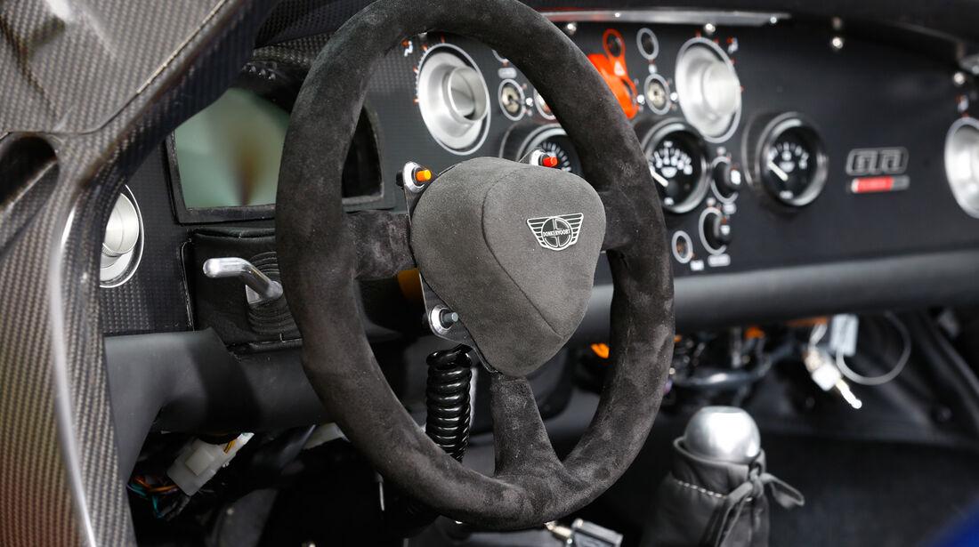 Donkervoort D8 GTO Performance, Lenkrad, Rundinstrumente