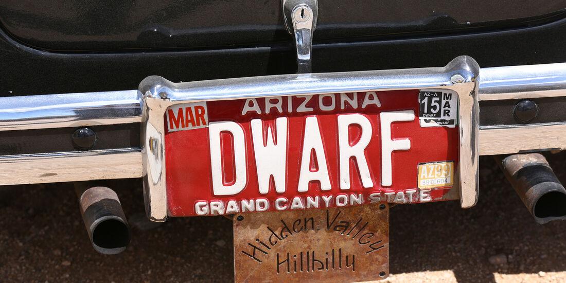 Dwarf Cars, Miniaturautos, Nummernschild
