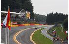 Eau Rouge - Formel 1 - GP Belgien - Spa-Francorchamps - 24. August