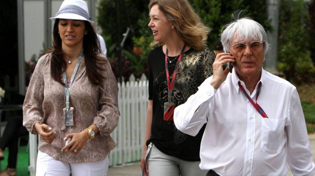 Ecclestone GP Malaysia 2011 Formel 1