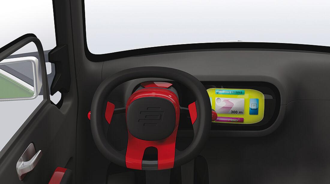 Edag Light Car Car-Sharing Genf 2011, Innenraum
