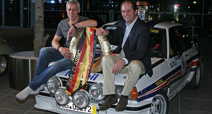 Eifel Classic 2010 - Ralph Herforth und Hanns-Werner Wirth mit Opel Ascona B 400