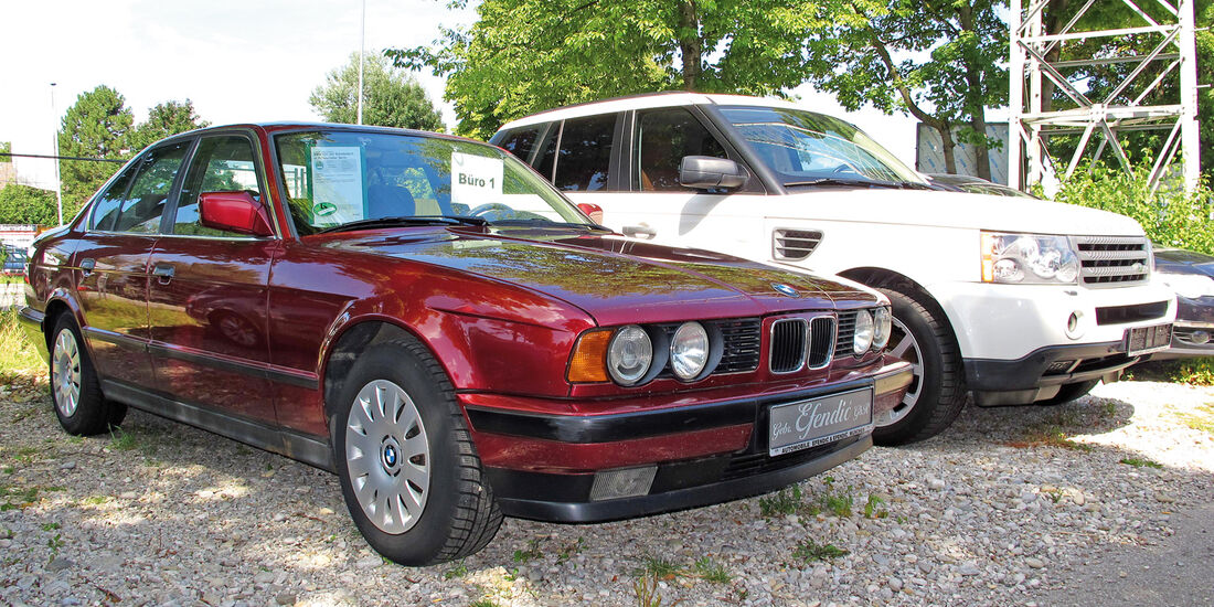 Einkaufs-Tour, BMW 520i 24V