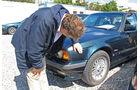 Einkaufs-Tour, BMW 540I, Lack