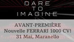 Einladung 1000 PS Hybrid Hypercar Ferrari