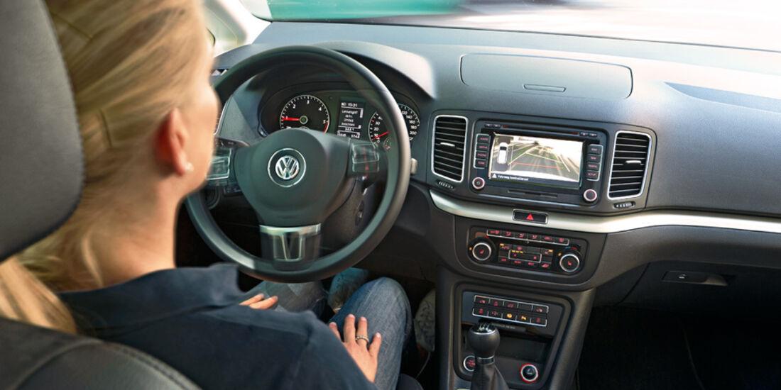 Einparksysteme, Cockpit