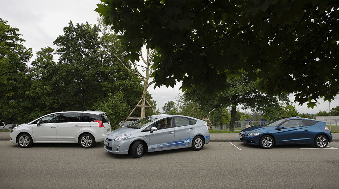 Einparktest, Toyota Prius