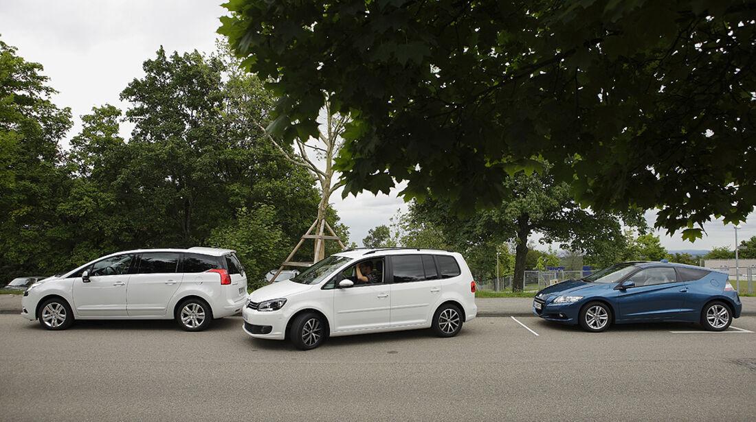 Einparktest, VW Touran