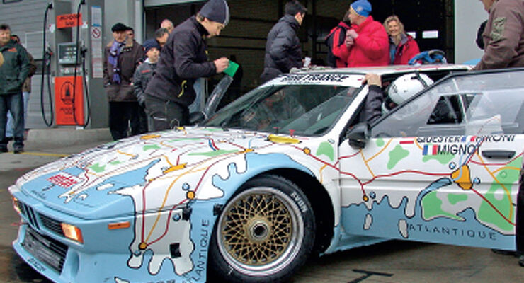 Einstellfahrten, BMW M1
