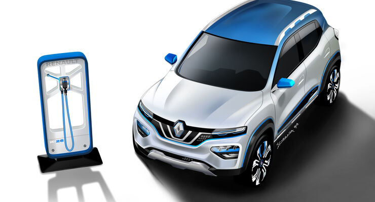 Elektro-SUV Renault K-ZE Paris Autosalon 2018