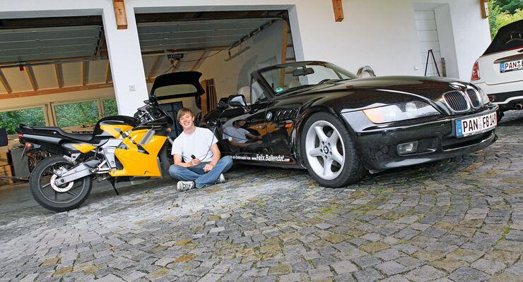 Elektro-Umbauten, Felix Ballendat, Fahrzeuge