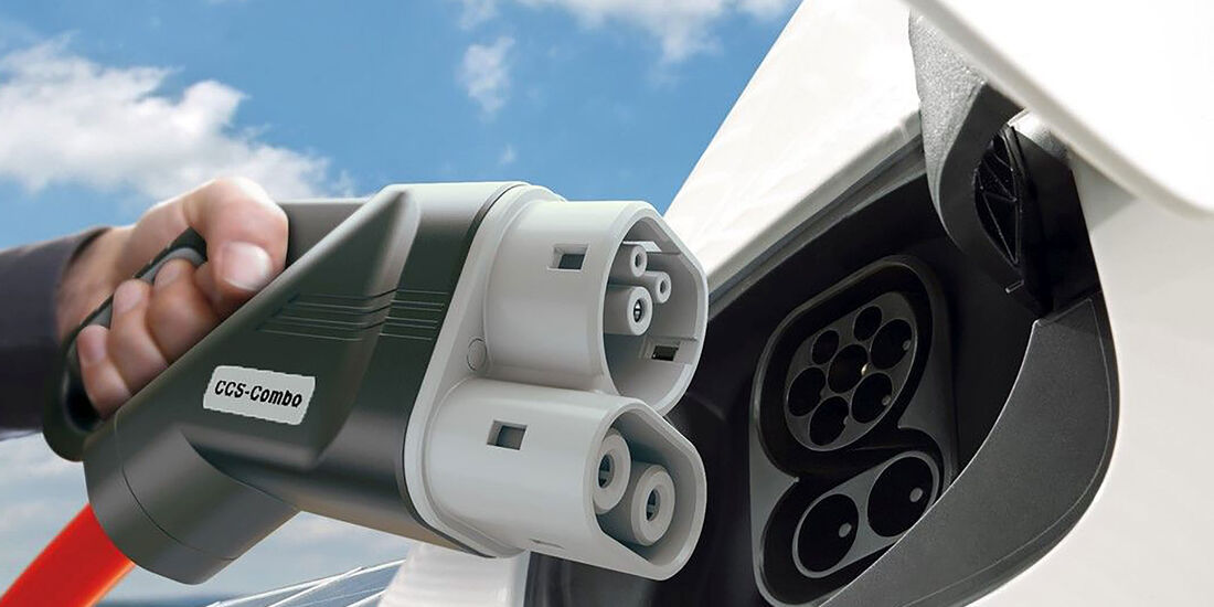 Elektroauto laden CCS Stecker