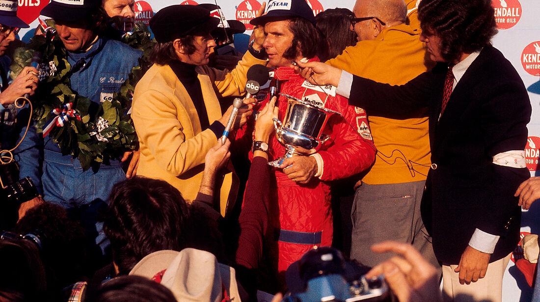 Emerson Fittipaldi - McLaren - Jackie Stewart - GP USA 1974 - Watkins Glen