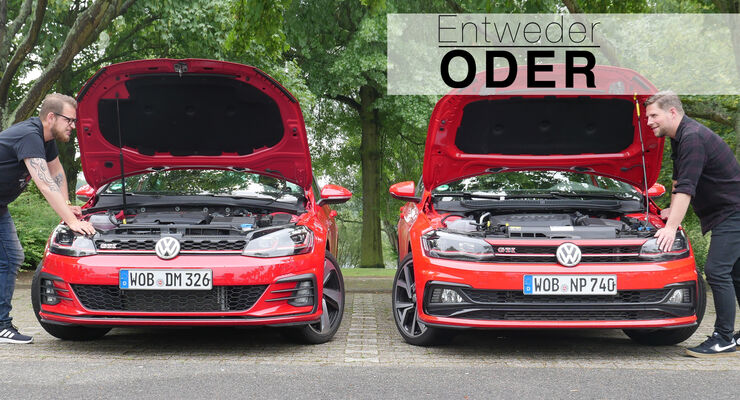 Entweder ODER VW Golf GTI Polo GTI Vergleich Aufmacher
