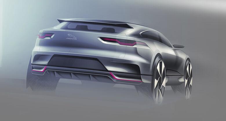 Entwicklungsprozess Jaguar I-Pace, I-Pace Concept