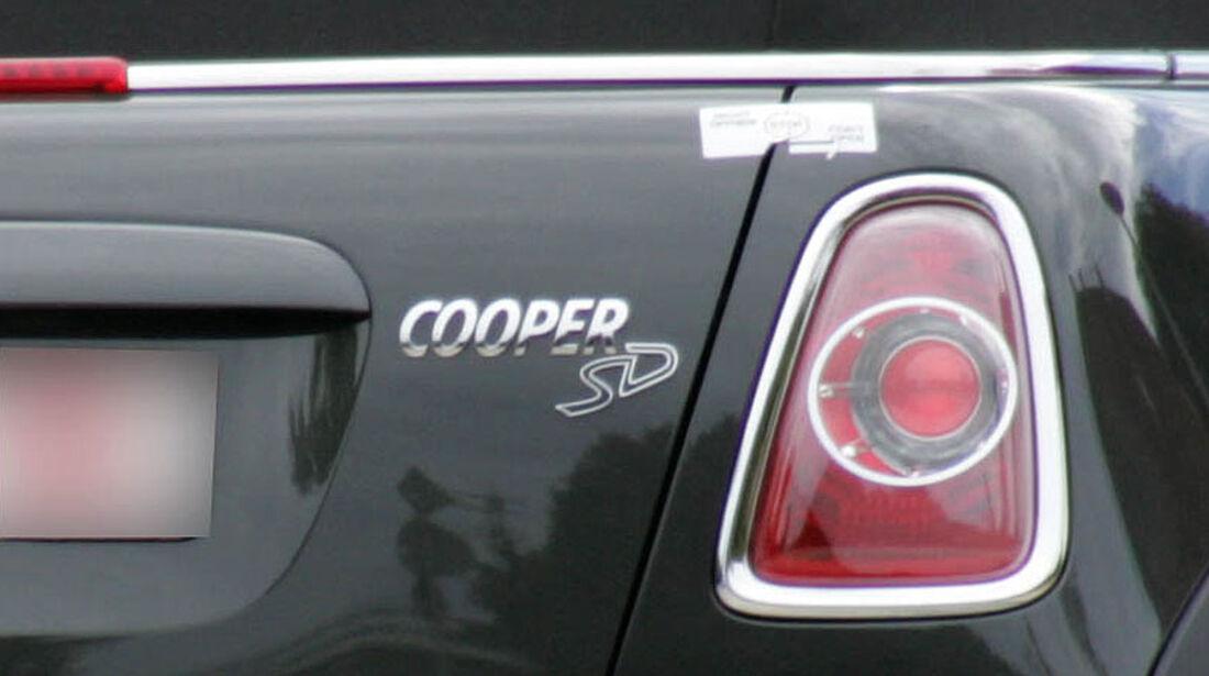 Erkönig Mini Cooper S Diesel, Rücklicht