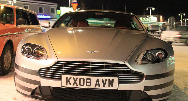 Erlkönig Aston Martin Vantage
