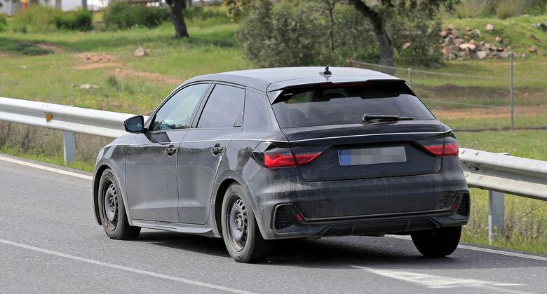 Erlkönig Audi A1