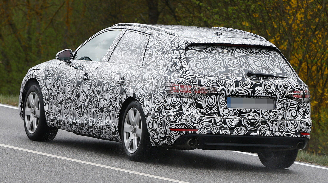 Erlkönig Audi A4 Avant