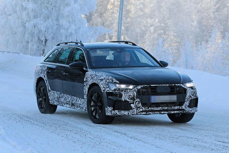 Erlkönig Audi A6 Allroad