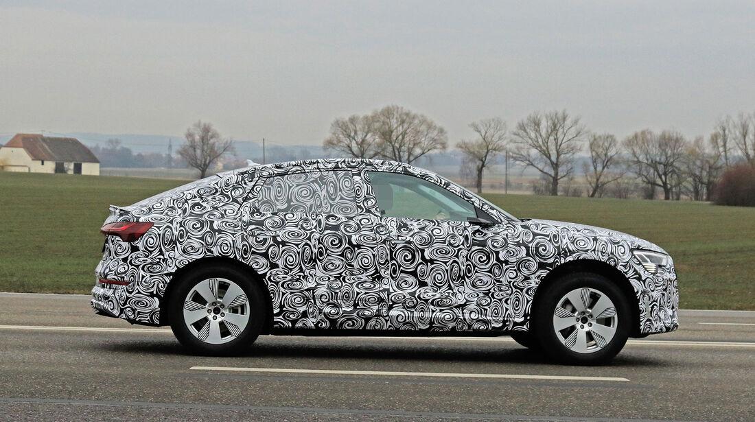 Erlkönig Audi E-Tron Sportback