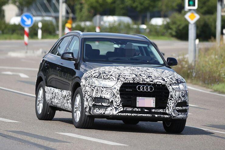 Erlkönig Audi Q3 Facelift