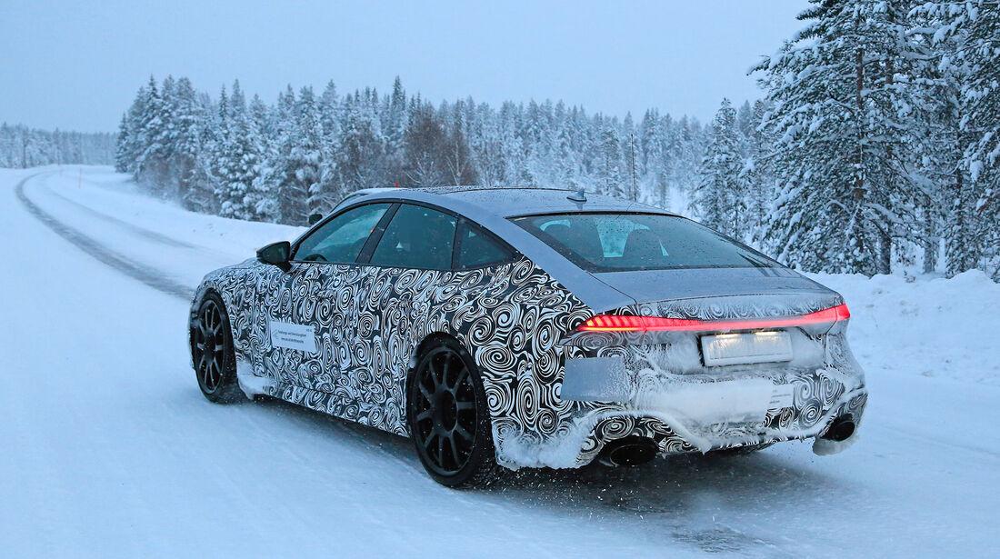 Erlkönig Audi RS7 Sportback