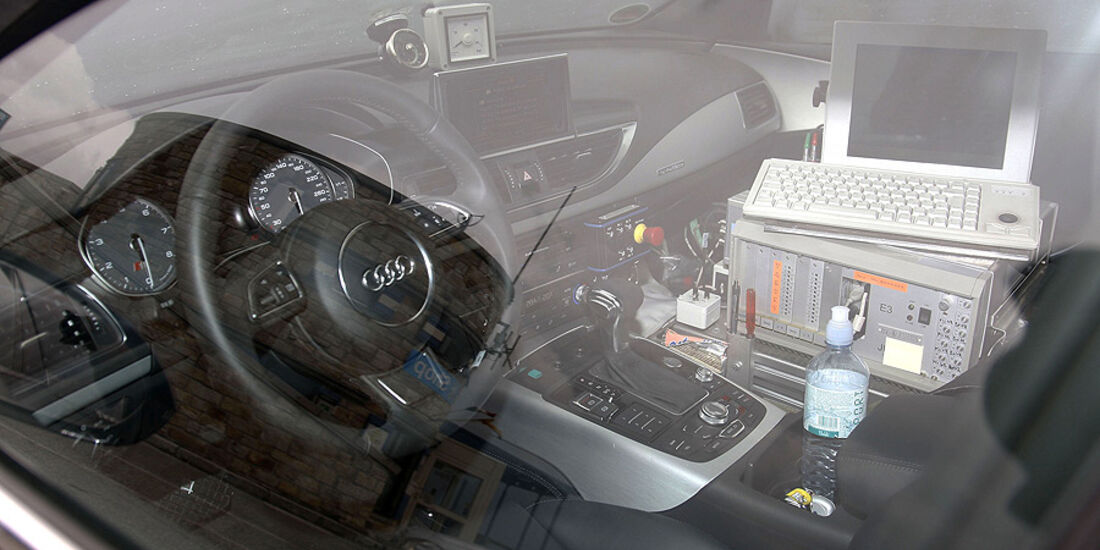 Erlkönig Audi S7