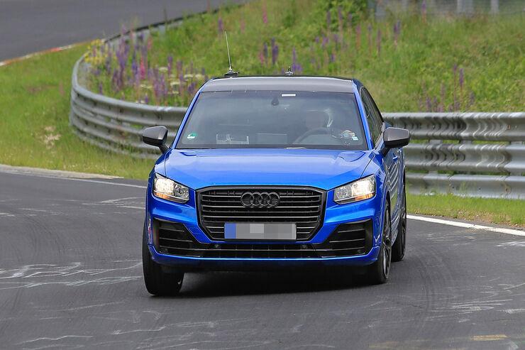 Erlkönig Audi SQ2