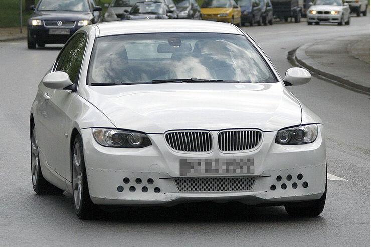 Erlkönig BMW 3er Coupe