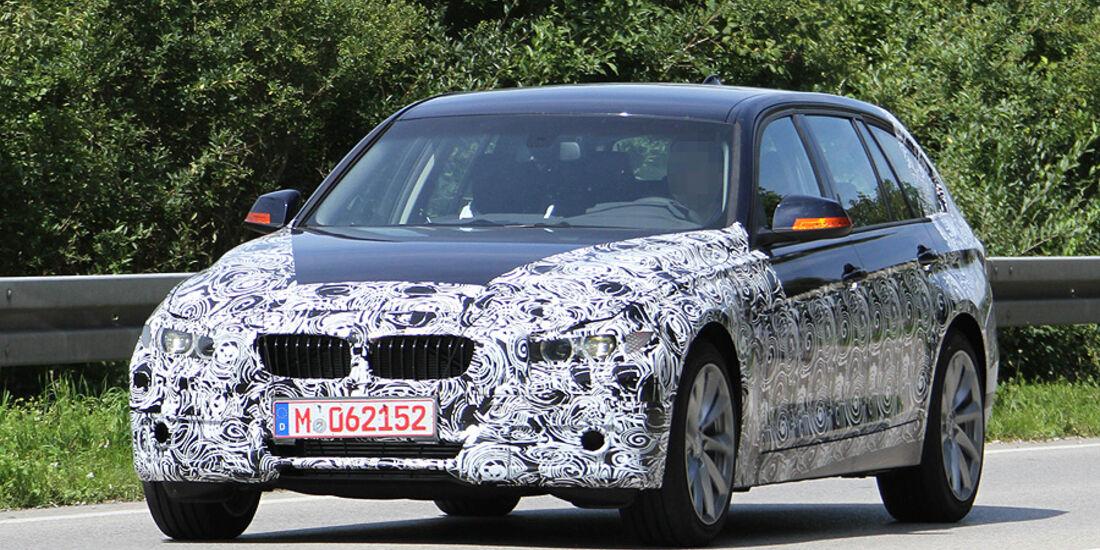 Erlkönig BMW 3er Touring
