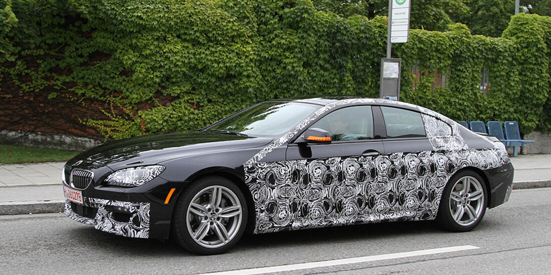 Erlkönig BMW 6er Gran Coupé M-Paket