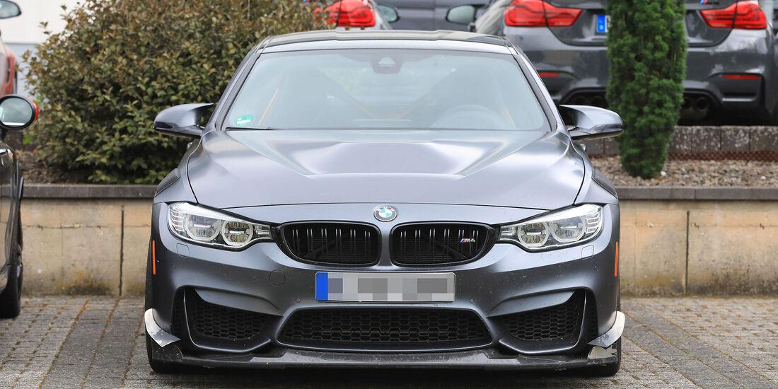 Erlkönig BMW M4 CSL