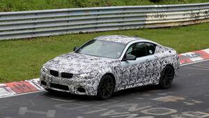 Erlkönig, BMW M4 Coupé