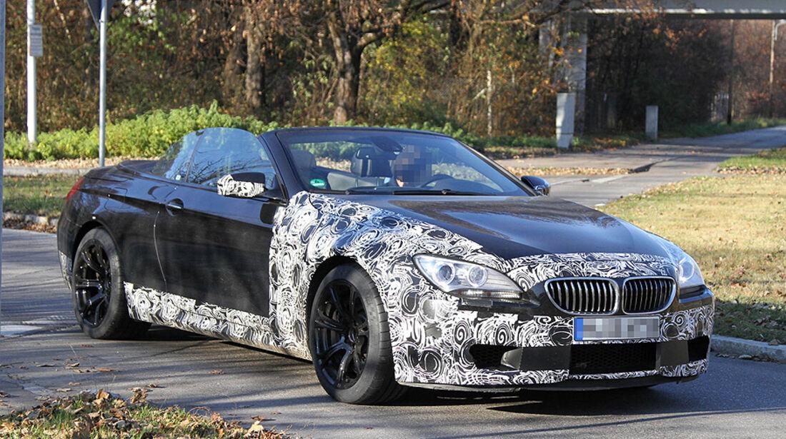 Erlkönig BMW M6 Cabrio