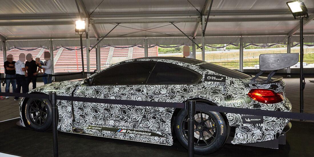 Erlkönig BMW M6 GT3