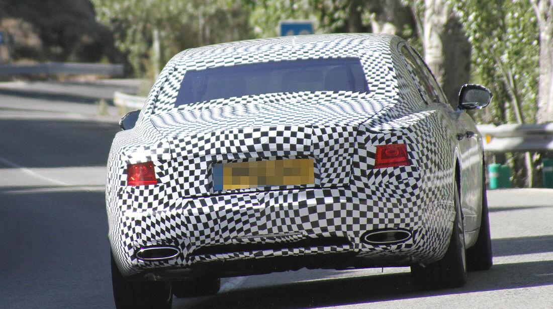 Erlkönig Bentley Continental Flying Spur