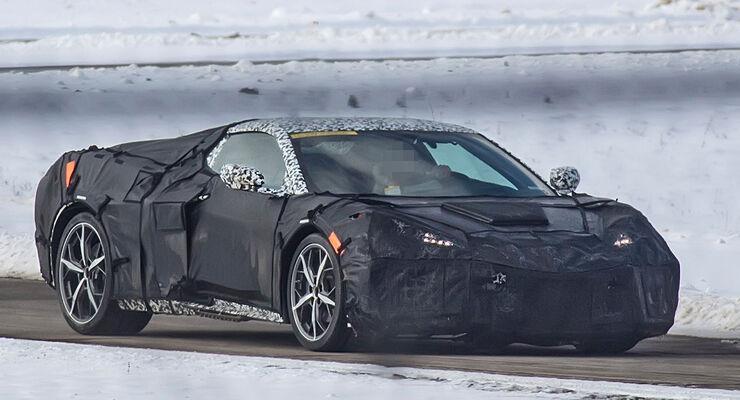 Erlkönig Chevrolet Corvette C8
