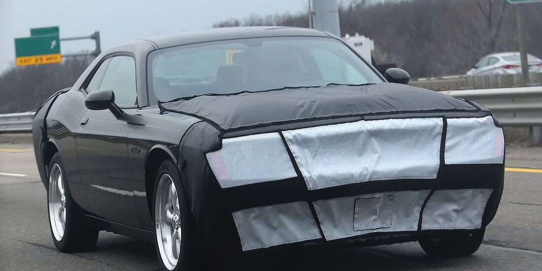 Erlkönig Dodge Challenger