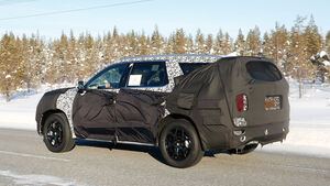 Erlkönig Hyundai 7-Sitzer-SUV