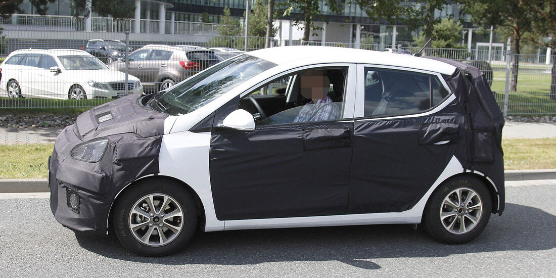 Erlkönig Hyundai i10