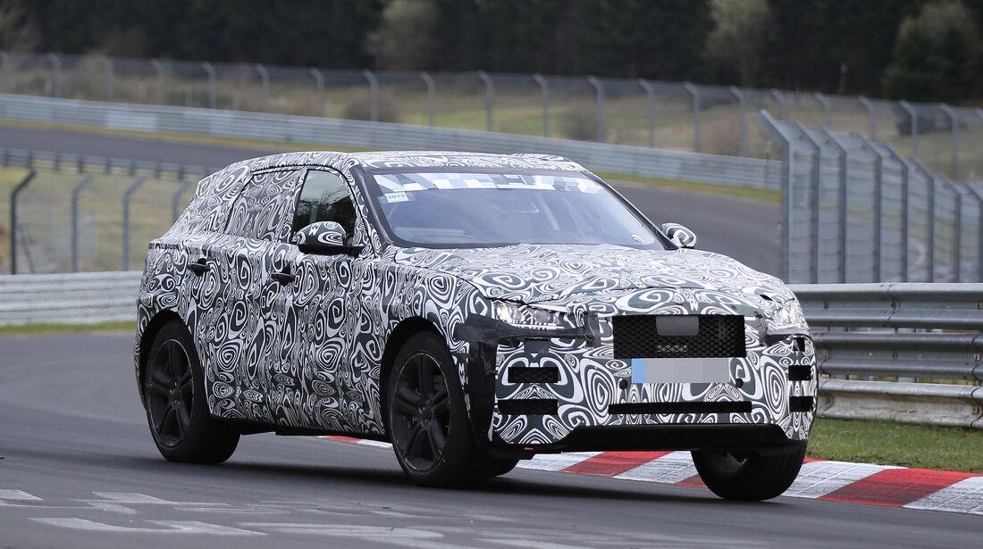Erlkönig Jaguar F-Pace