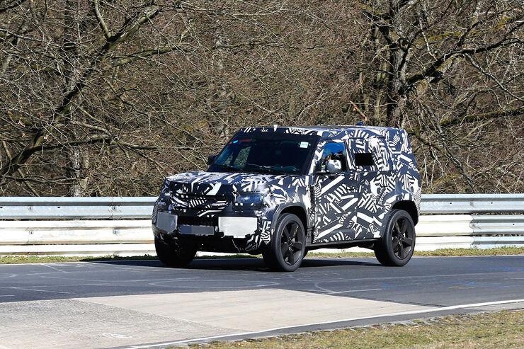 Erlkönig Land Rover Defender