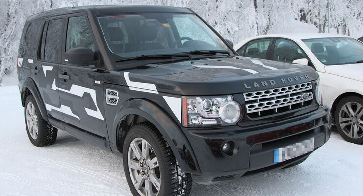 Erlkönig Land Rover Dicovery Muletto
