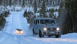 Erlkönig Mercedes-AMG G63