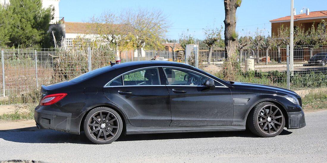 Erlkönig Mercedes CLS 63 AMG