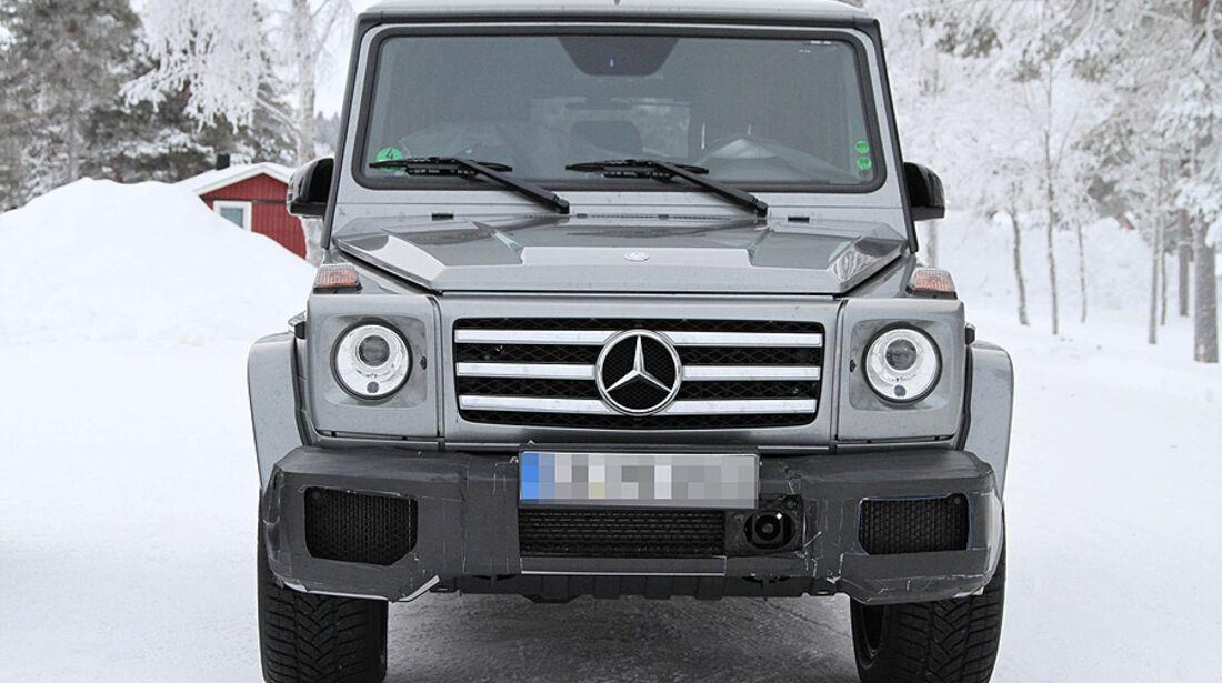 Erlkönig Mercedes G63 AMG