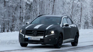 Erlkönig Mercedes GLA
