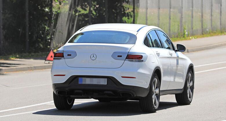 Erlkönig Mercedes GLC Coupé
