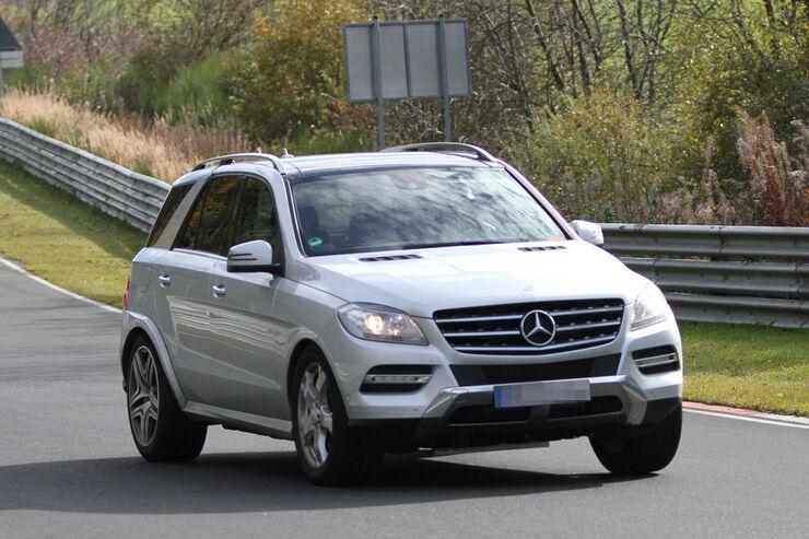 Erlkönig Mercedes MLC